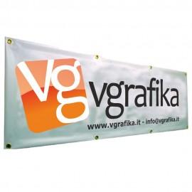 Banner in PVC da 450 gr. alto 72 cm.