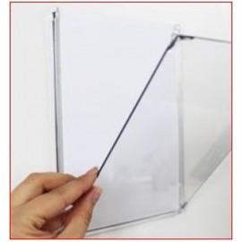 Espositore per muro o vetro A4