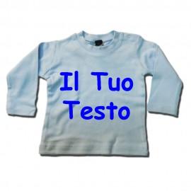 T-shirt maniche corte modello MABZ11 - Celeste